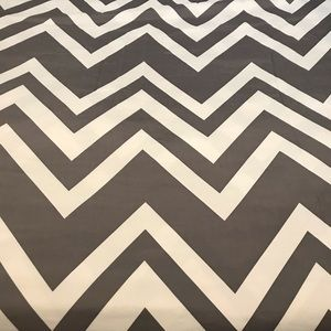 Other - Twin Duvet Cover Gray Chevron